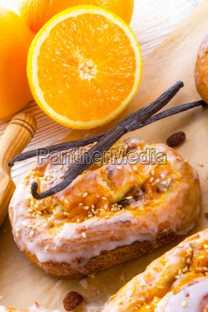 fresh, vanilla, orange, snails - 10410837