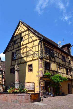 house in ricquewihr