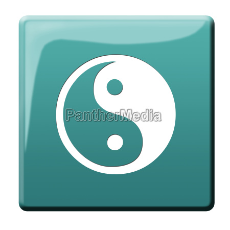 yin yang button