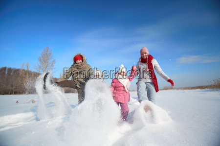 snow, play - 10422447