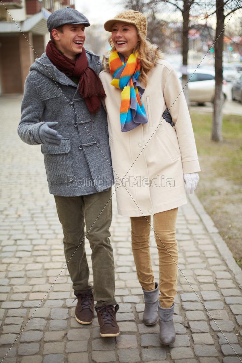 walking, together - 10445499