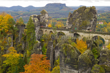 bastion saxon switzerland autumn