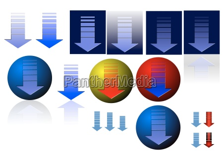 vector buttons download