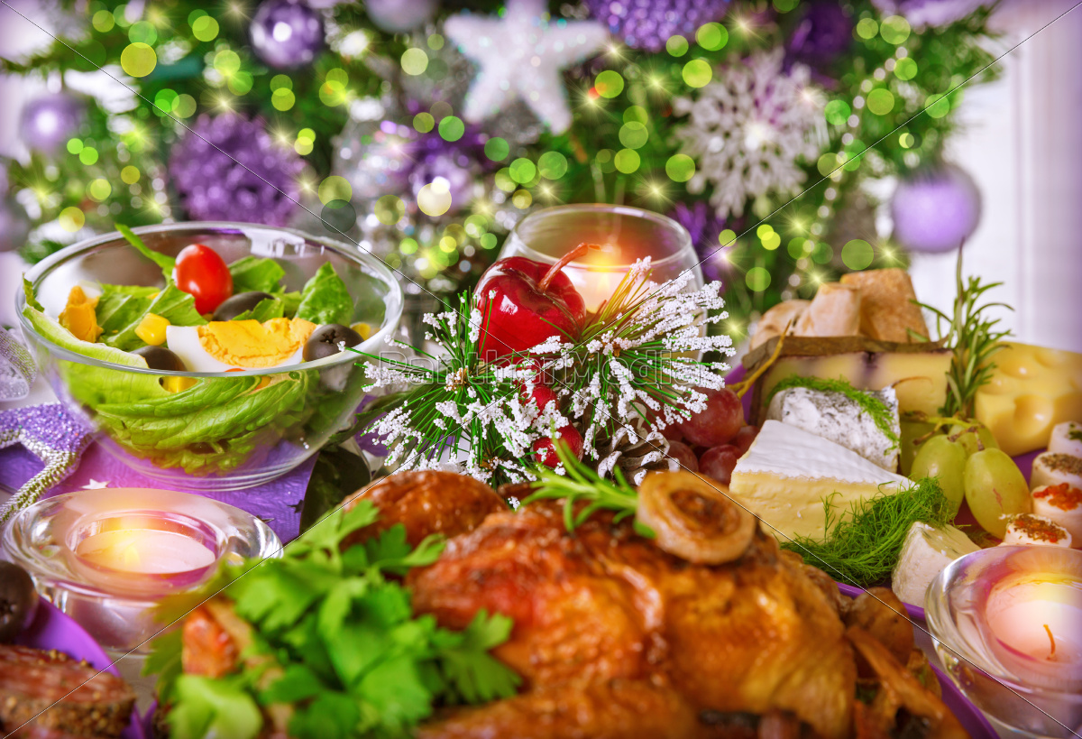 christmas, dinner - 10476107