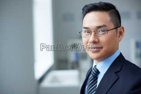 smart, businessman - 10479365