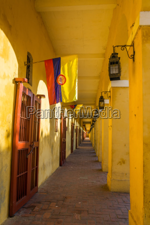 passageway, and, flags - 10484393