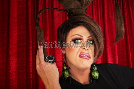 annoyed drag queen