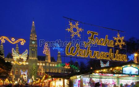 christmas market vienna christmas market