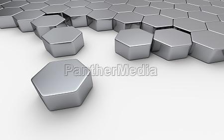 silver hexagon block concept 4