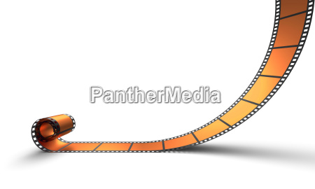 blank film reel orange 06