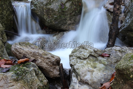 eco waterfall lasting scenery countryside nature