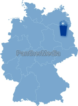 map of germany where berlin is