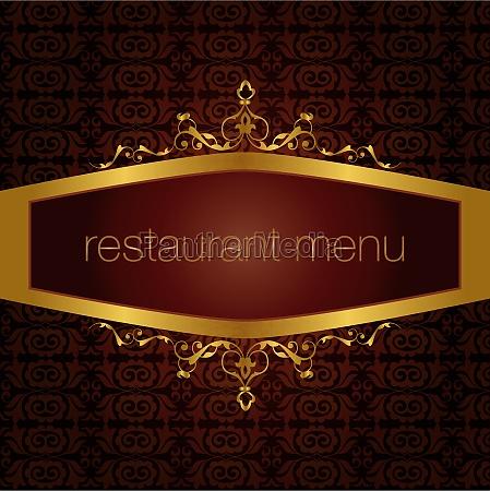 restaurant menu version
