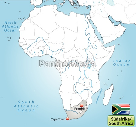 surrounding area of south africa with