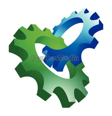 przemyslowo narzedzia technologia mechanicznie mechanizm wektor