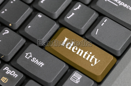 identity key on keyboard