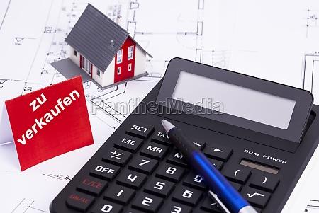 house building sale pocket calculator offer