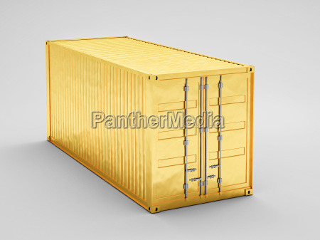 golden container