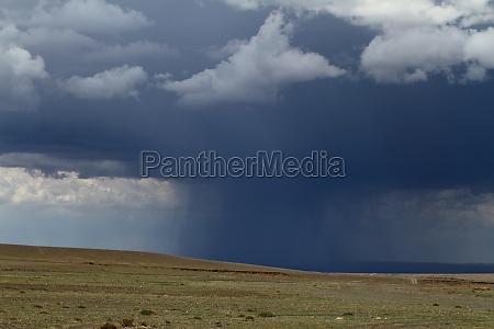rainy season in mongolia