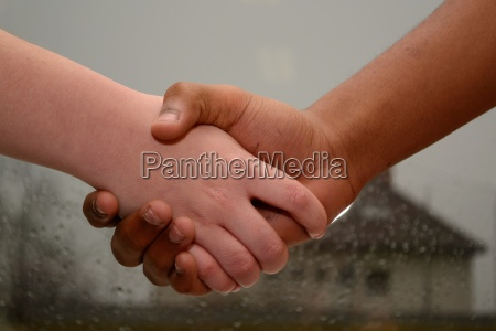 handshake among adolescents