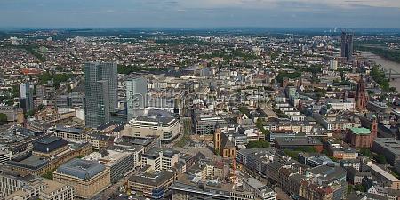 frankfurt am main panorama