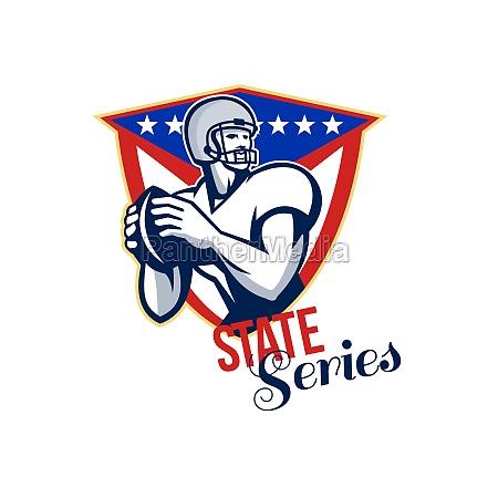 american football quarterback state series