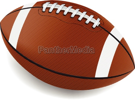 realistic football illustration