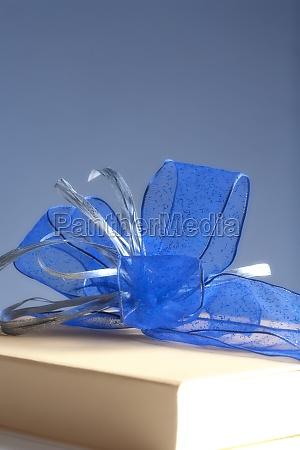 present luxury gift box decorated