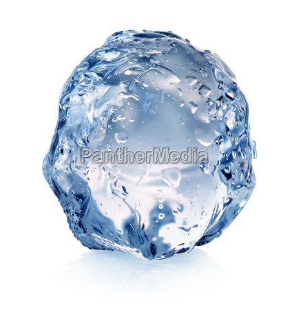 ice with drops