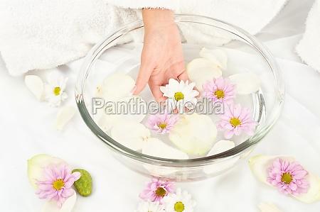 soothing petal bath