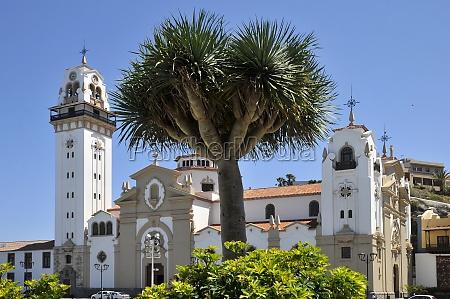 basilica of candelaria at tenerife