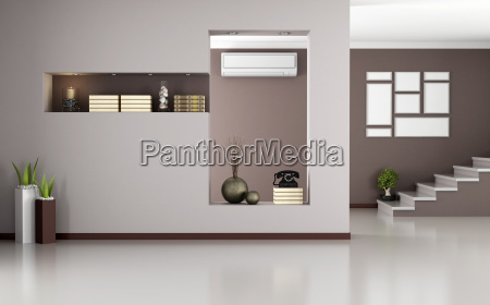 beige und braun modernen interieur