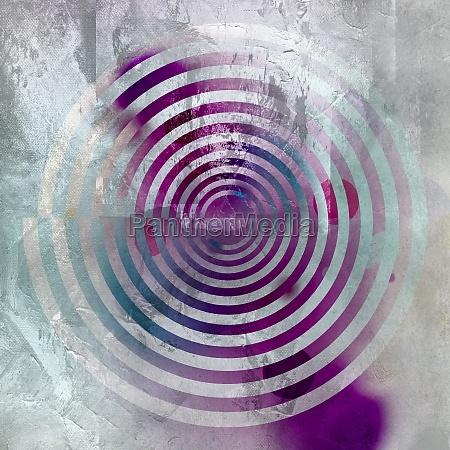 spirale malerei textur