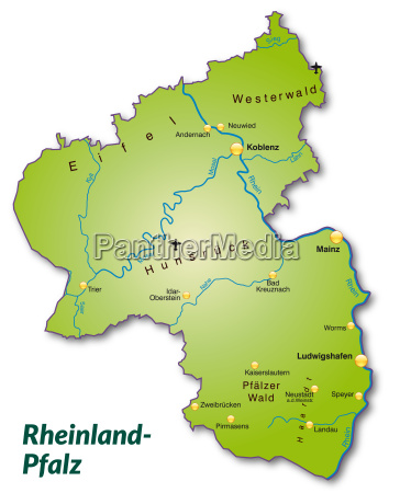 map, of, rhineland-palatinate, as, a, map - 10913112