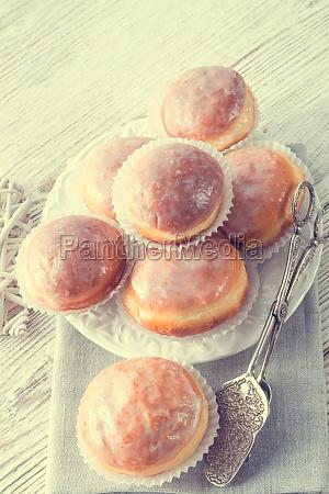 donut vintage style