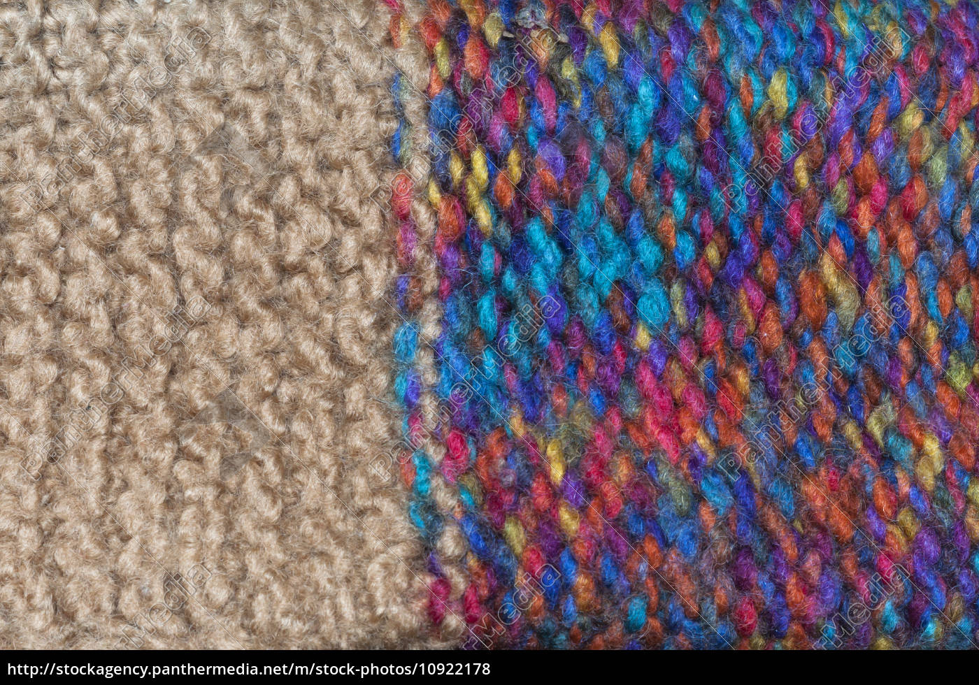 colorful, knitted, wool - 10922178