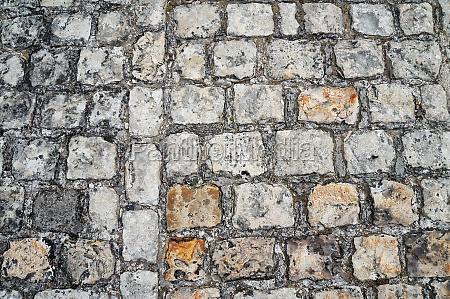 cerotto marciapiede ciottolo manto stradale acciotolato