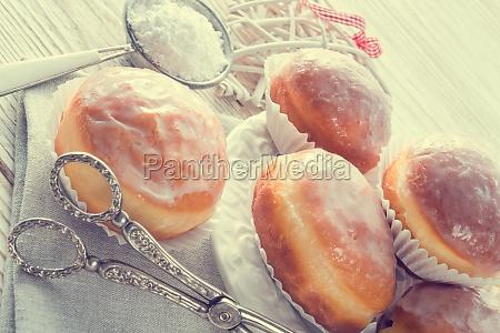 doughnut vintage style