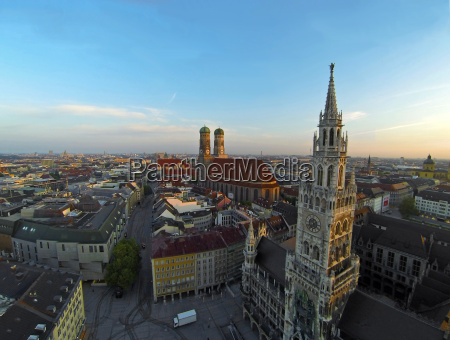 munich old town from the