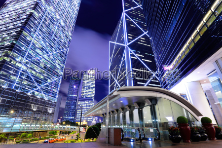 hong kong modern building
