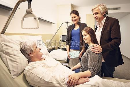 visita familiar hospitalaria