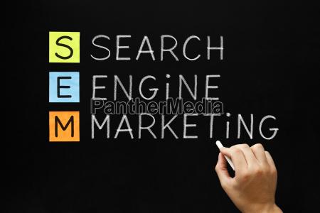 search engine marketing acronym