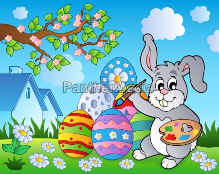 easter bunny theme image 8