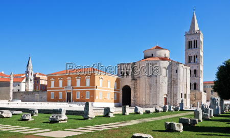 sveti donat and agora in zadar