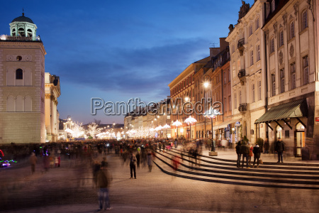 city of warsaw in poland at