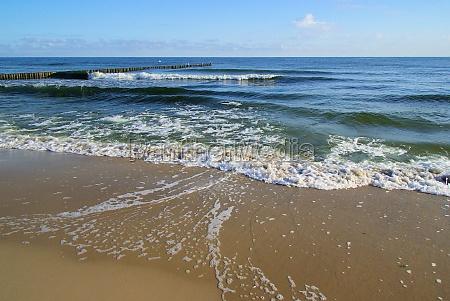 baltic beach baltic sea beach
