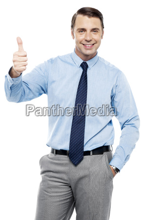 picture of a male executive showing