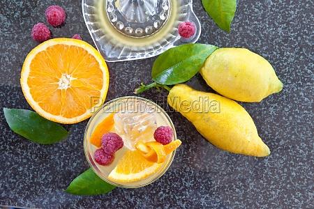 fresh orange soda