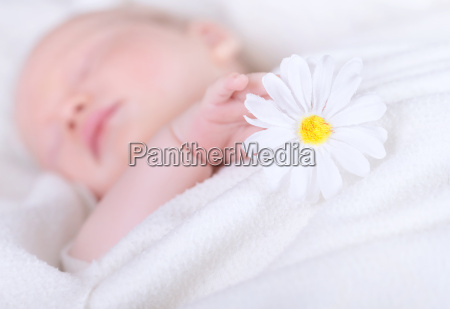 little child asleep