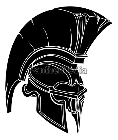 an illustration of a spartan or